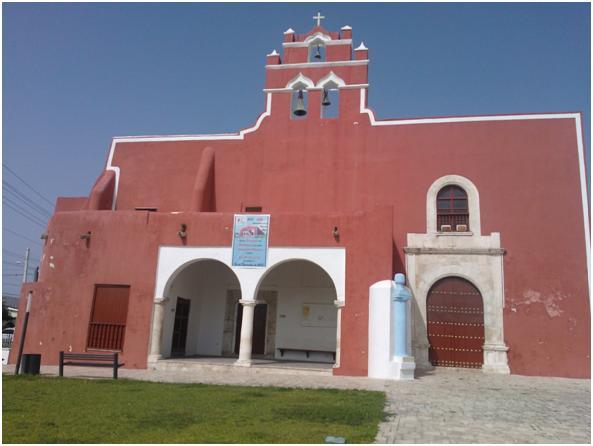 Iglesia de San Francisco en Campeche
