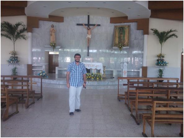 El P. Sebastián, en el de San José Obrero
