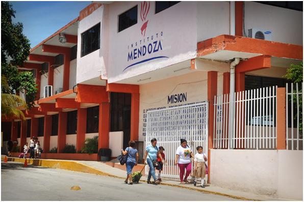 Parte nueva del Instituto Mendoza
