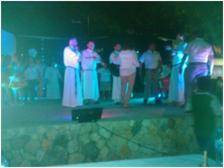 Fiesta de los 5 años de la llegada de los salvatorianos a Campeche
